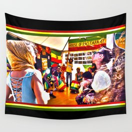 House Of Rastafari / Rototom Sunsplash 2011 Wall Tapestry