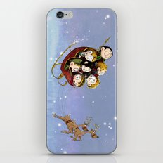 Little Hiddles Christmas Time iPhone Skin