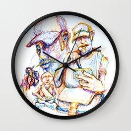 Commuter Composite Wall Clock