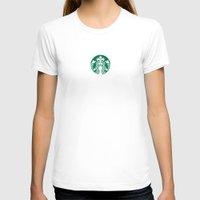 starbucks T-shirts featuring Starbucks by nZ.Design
