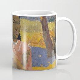 Paul Gauguin -  Nafea Faa Ipoipo (When Will You Marry?) Coffee Mug