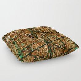 woven Floor Pillow