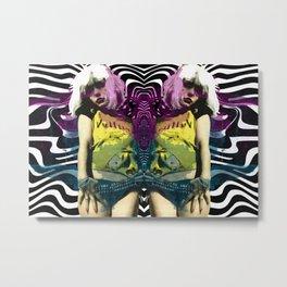 Vulture (Debbie Harry of Blondie pop art) Metal Print