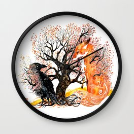Forever Autumn Wall Clock