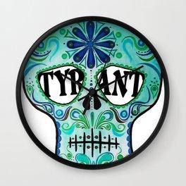 """TYRANT """"Sugar Skull"""" Wall Clock"""