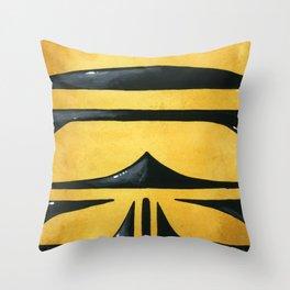 Allograpta Throw Pillow