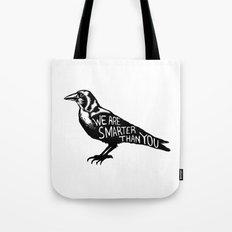 Crow Tote Bag