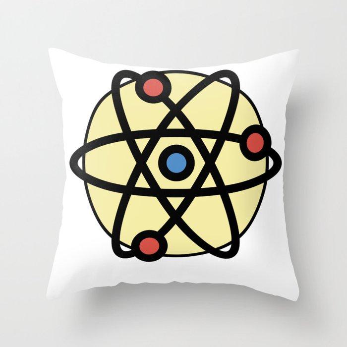 Atoms Very Cute Gift Idea Throw Pillow