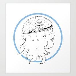 The Brain Art Print