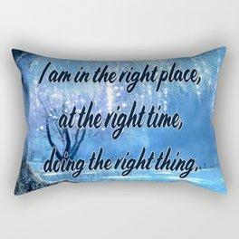 Doing All Right Rectangular Pillow
