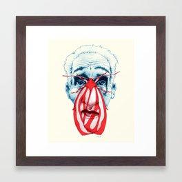 Mothbums Portrait N°5 Framed Art Print