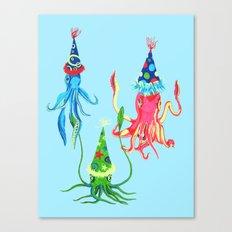 Party Squad Canvas Print
