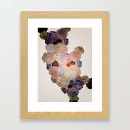 Florals // Pattern III Framed Art Print