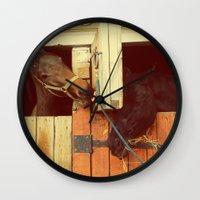 breakfast Wall Clocks featuring Breakfast by Armine Nersisian
