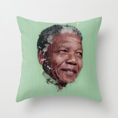 Nelson Mandela Throw Pillow