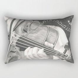 The Note Waltz Rectangular Pillow