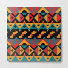 TRibal Metal Print