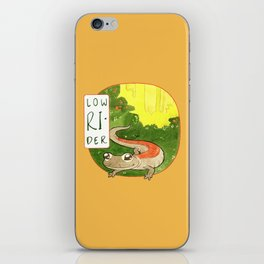 Low Rider iPhone Skin