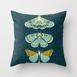 Lepidoptery No. 8 by Andrea Lauren  Throw Pillow