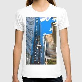 Downtown Philladelphia. JFK Plaza T-shirt