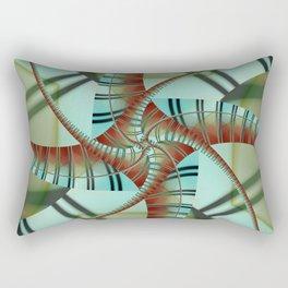 Abstrakt Stripes Rectangular Pillow