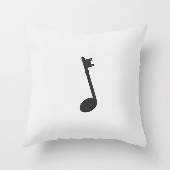 Keynote (Alt). Throw Pillow