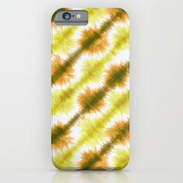 Dyed Washi Paper <bourbon yellow> iPhone Case