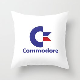 Commodore Throw Pillow