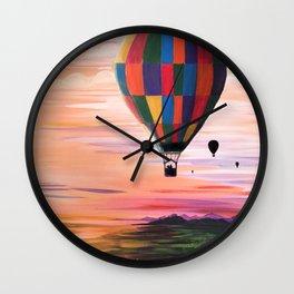 Hot Air Journey Wall Clock