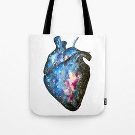 Galaxy heart Tote Bag
