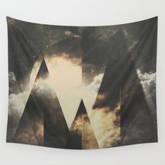 The mountains are awake Wall Tapestry