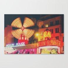 a Parisian icon ... Canvas Print