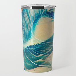 Sandy Waves Travel Mug