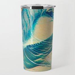Sandy Waves Travel Mug