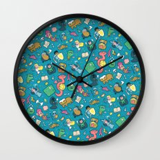 Dungeons & Patterns Wall Clock