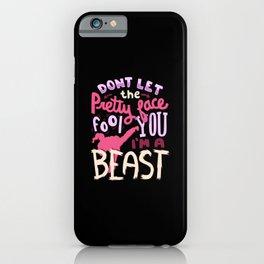 I'm a Beast - Karate iPhone Case