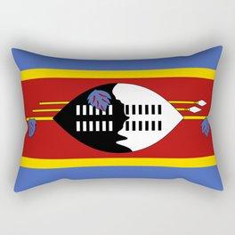 Swaziland Flag Rectangular Pillow