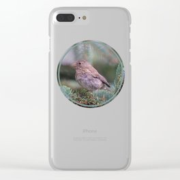 Backyard Visitor ~ I Clear iPhone Case