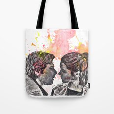 Han Solo and Princess Leia from Star Wars Tote Bag