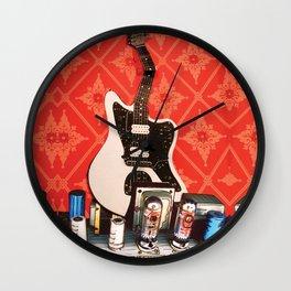 Bent Jag Wall Clock