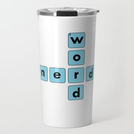 Nerd Word Crossword Puzzle Geek Numbered Squares Puzzlers Thinking Gift Travel Mug