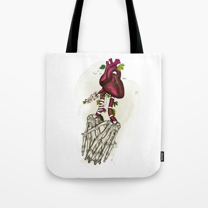 the power of love Tote Bag