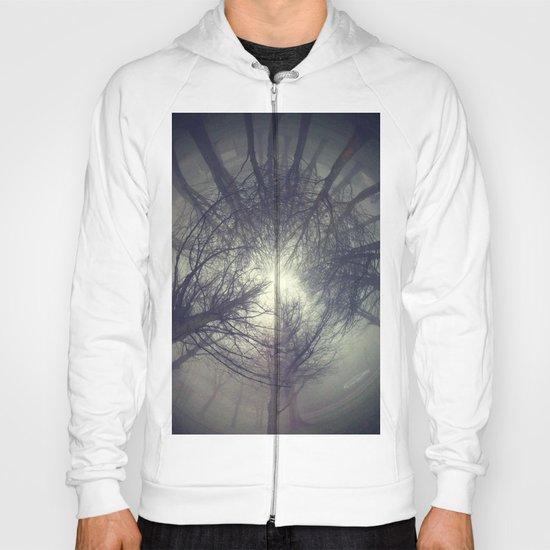Circle of misty trees Hoody