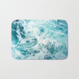 Ocean Sea Waves Bath Mat