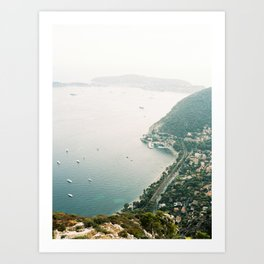 Eze Village, French Riviera Art Print