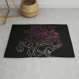 Viking Dragon Rug