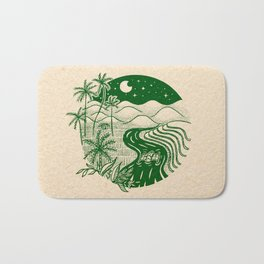 Memories of the Philippines Bath Mat