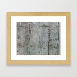 Concreto Framed Art Print