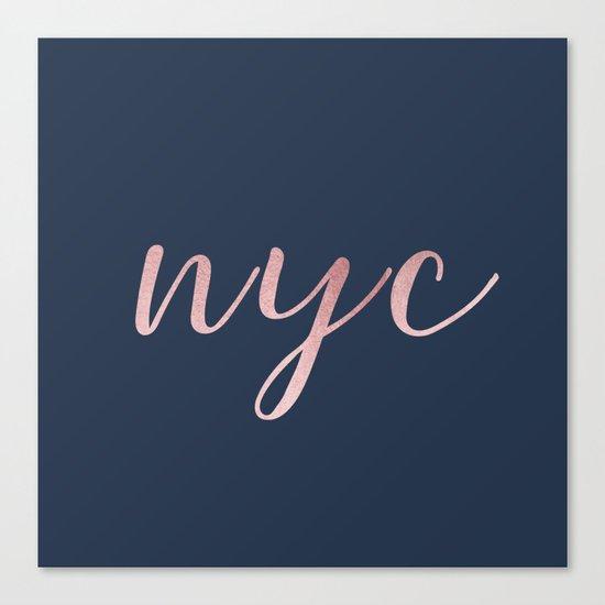 nyc shine Canvas Print