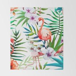 Tropical Birds vol.2 Throw Blanket